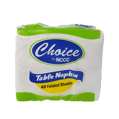 CHOICE TABLE NAPKIN FOLDED 40
