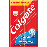 COLGATE TWIN PACK GRF 25GX6
