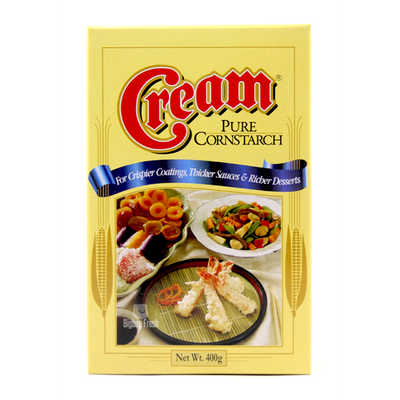 CREAM PURE CORN STARCH  400G