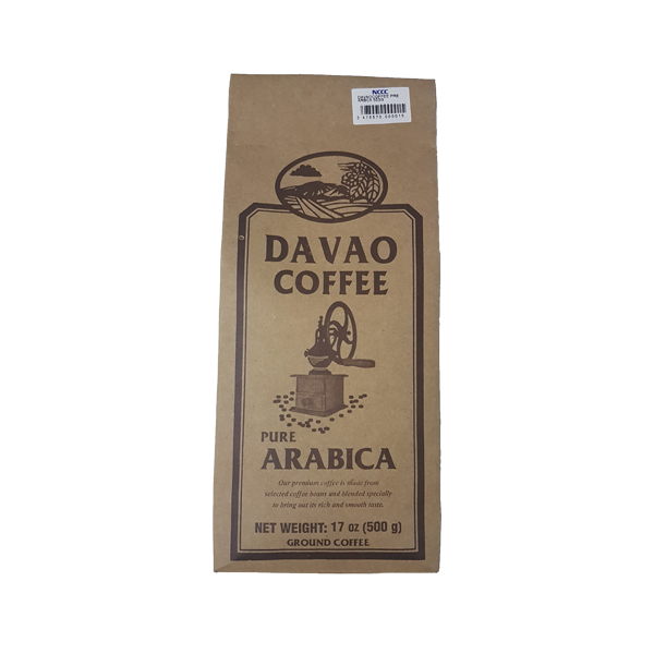 DAVAO COFFEE PURE ARABICA 500G