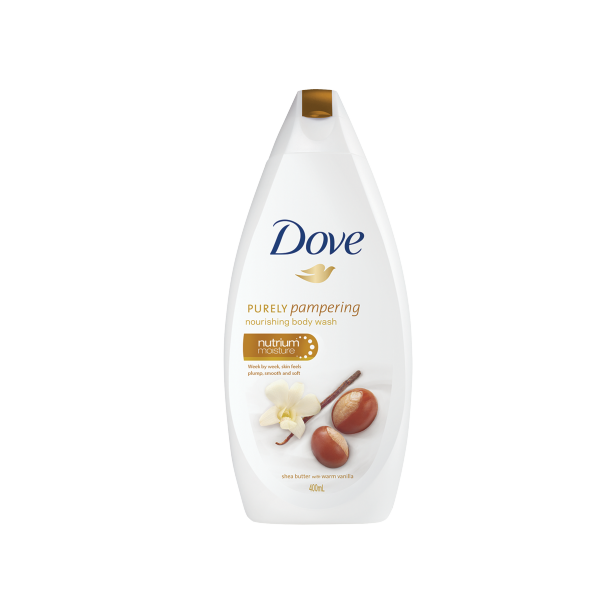 DOVE BODY WASH SOAP SHEA BUTTER 400ML