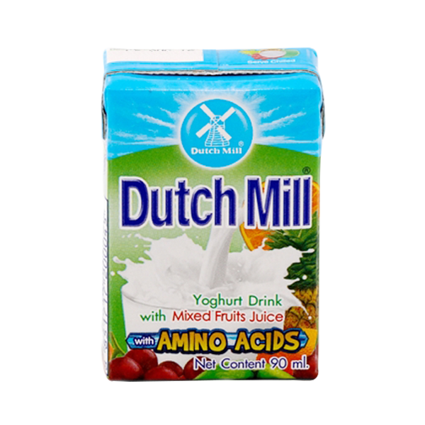 DUTCH MILL YOGHURT DRINK MIXED FRUITS 90ML
