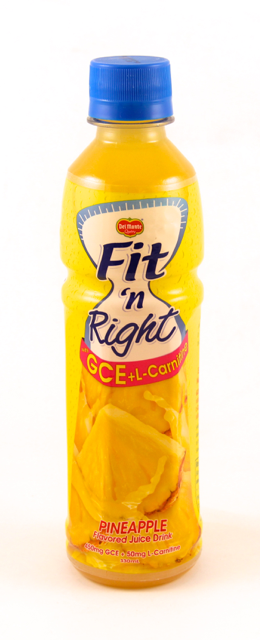 DEL MONTE FIT NRIGHT PINEAPPLE 330ML
