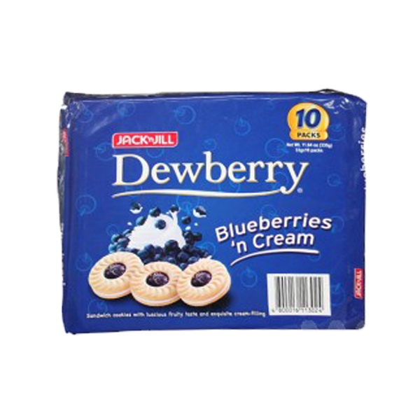 DEWBERRY BLUEBERRIES N CREAM 33GX10S