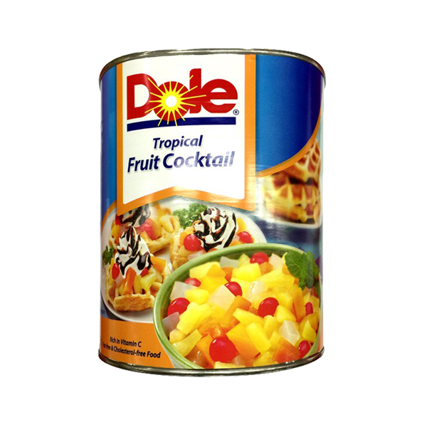 DOLE TROPICAL FRUIT COCKTAIL 3062G
