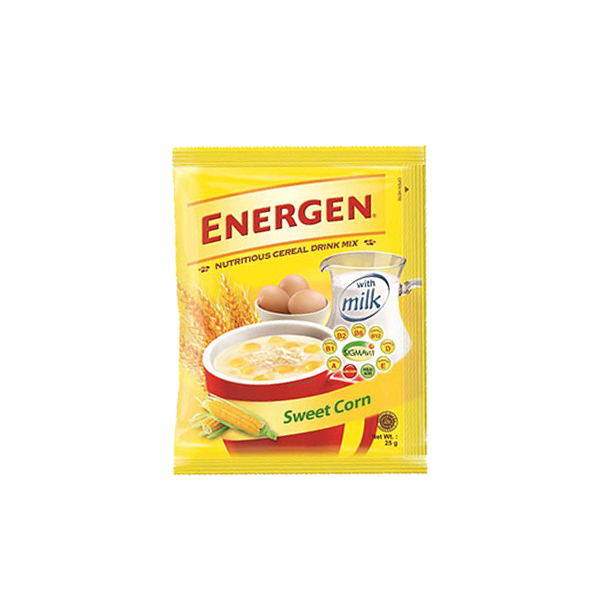ENERGEN SWEET CORN CEREAL DRINK MIX 25G