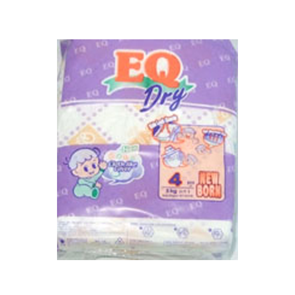 EQ DRY MINI PACK NEW BORN 4S