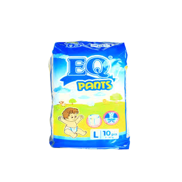 EQ PANTS BUDGET PACK LARGE 10S