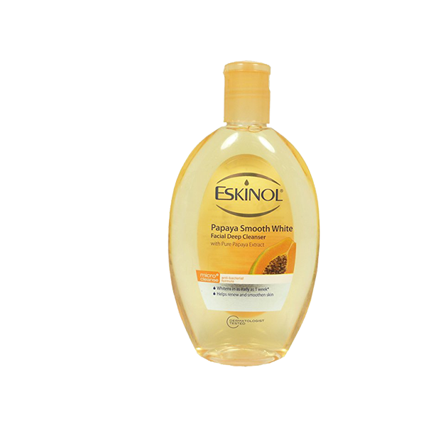 ESKINOL NATURAL FACIAL WASH LIQUID PAPAYA CLEANSER 225ML