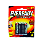 EVEREADY AAA BLACK 1212 BP4