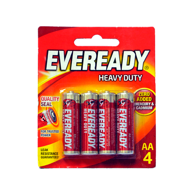 EVEREADY AA RED 1015 BP4