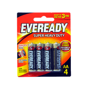 EVEREADY AA BLACK 1215 BP4