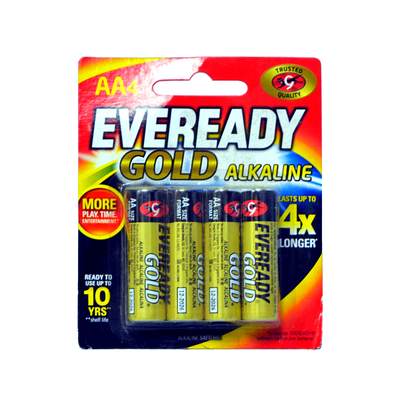 EVEREADY GOLD AA A91 BP4