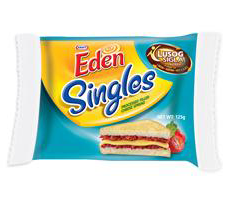 EDEN CHEESE SINGLES 125G