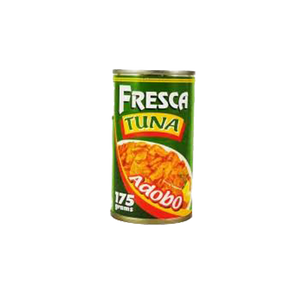 FRESCA TUNA FLAKES ADOBO 175G  SAVES 1.00