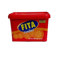 FITA CRACKERS IN PLASTIC 600G