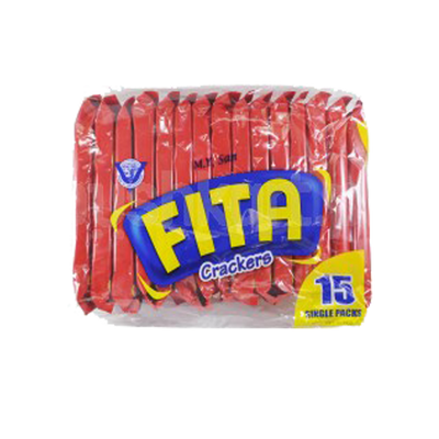 FITA CRACKER SINGLE PACKS 30GX15'S