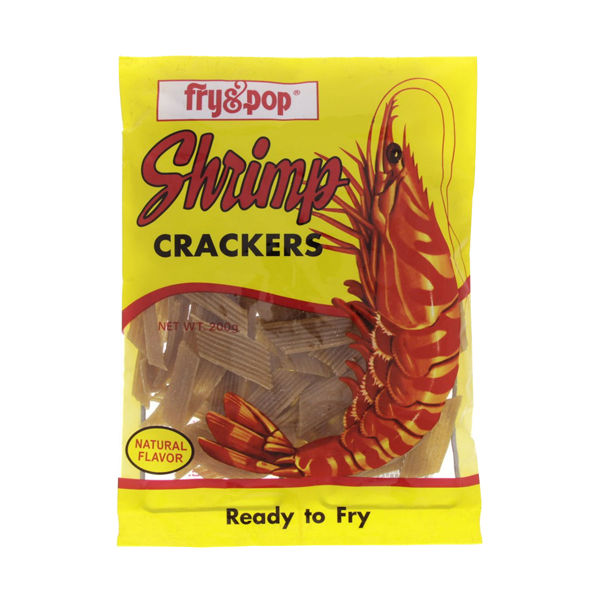 FRY&POP SHRIMP CRACKERS 200G