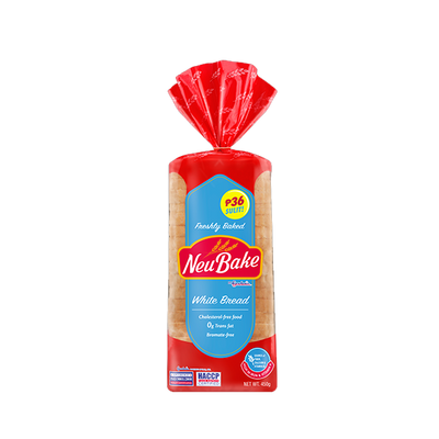 CS GARDENIA NEU BAKE WHITE BREAD 450G
