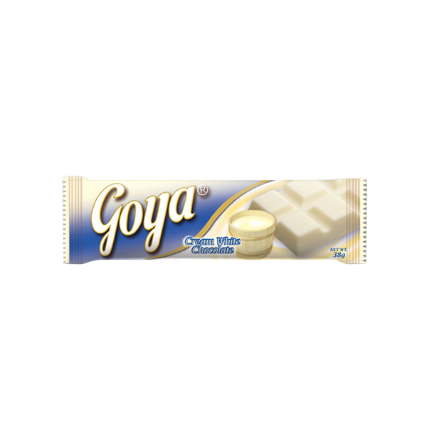 GOYA CREAM WHITE CHOCOLATE 38G / 35G