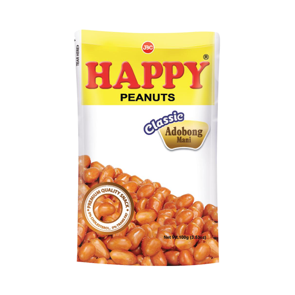 HAPPY NUTS ADOBO MANI 100G