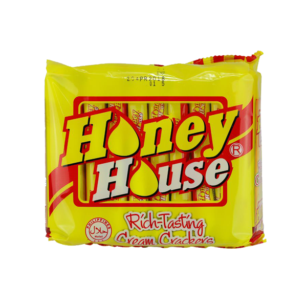 HONEY HOUSE RICH TASTING CREAM CRACKERS 10S