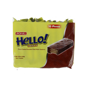 HELLO COATED CHOCOLATE 15GX10S