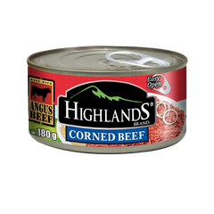 HIGHLANDS CORNED BEEF EASY OPEN CAN 180G