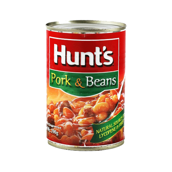 HUNTS PORK AND BEANS 390G