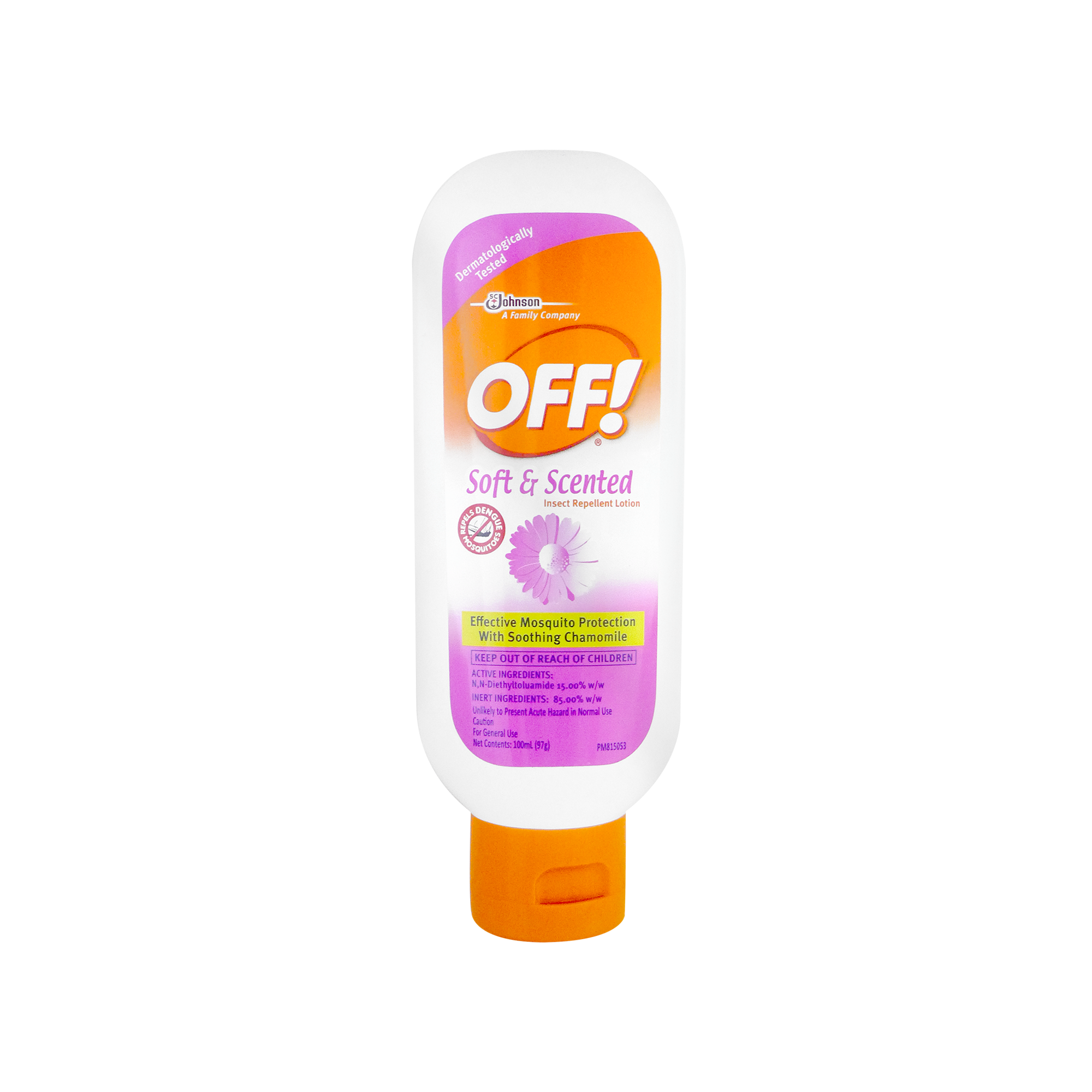 JOHNSON OFF SOFT & SCENTED 100ML