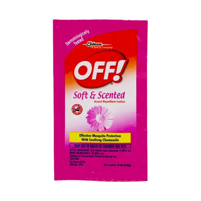 JOHNSON OFF SOFT & SCENTED 6ML
