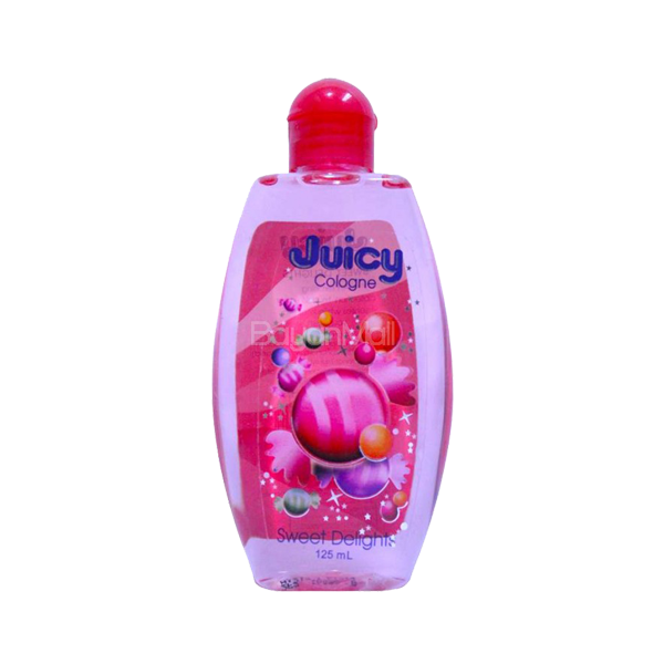 JUICY COLOGNE SWEET DELIGHTS PEACH/RED 125ML