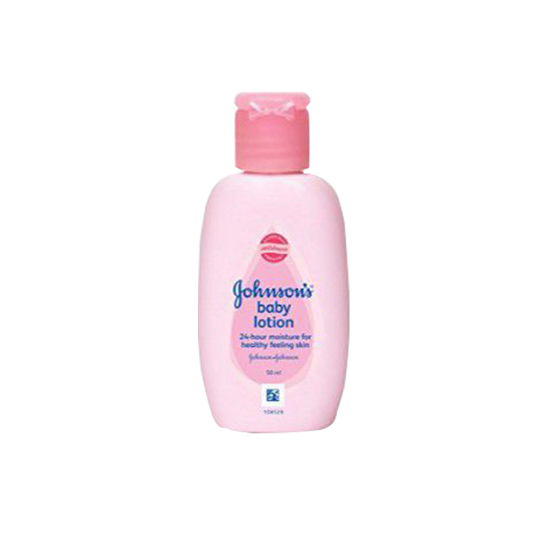J&J BABY LOTION RICH & CREAMY PINK 50ML