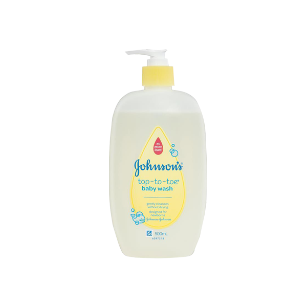 J&J BABY MILK BATH NO MORE TEARS 500ML