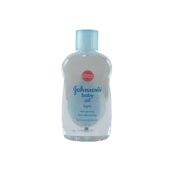 J&J BABY OIL LITE NON-GREASY BLUE 50ML