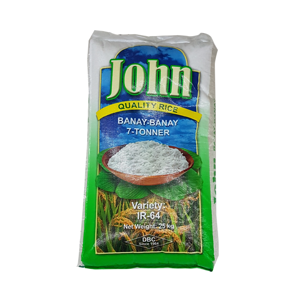 JOHN B71 TONNER RICE WITH IRON 25KG
