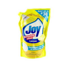 JOY DISHWASHING LIQUID LEMON 600ML