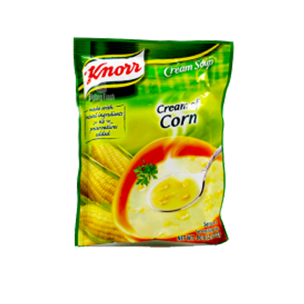 KNORR CREAM OF CORN 80G - OLD