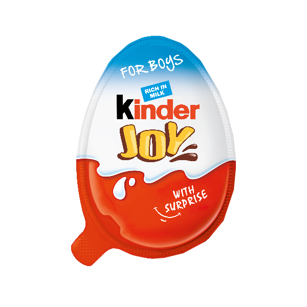 KINDERJOY WITH SURPRISE FOR BOYS T24