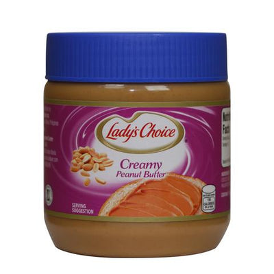 LADY'S CHOICE PEANUT BUTTER 340G