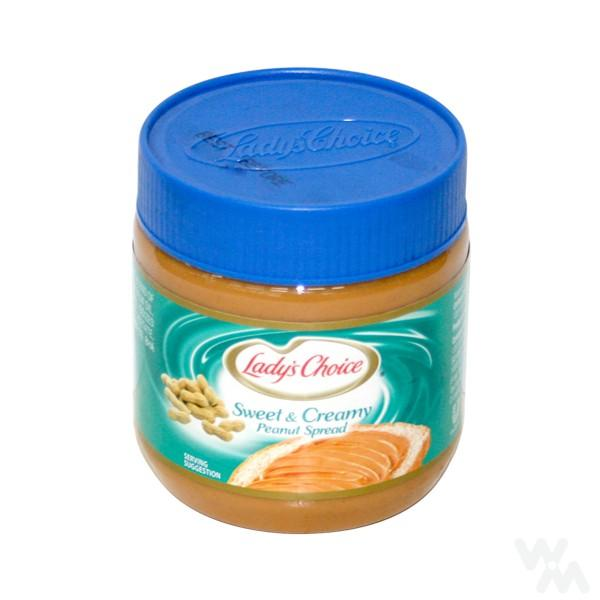 LADY'S CHOICE PEANUT BUTTER SWEET 340G