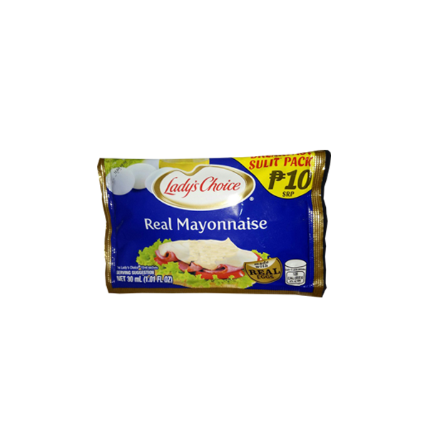 LADYS CHOICE REAL MAYONNAISE BREAKFAST SULIT PACK 30ML