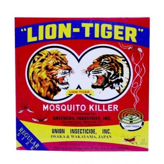 LION TIGER MOSQUITO COIL 10S