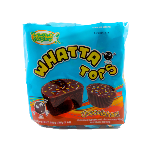 LEMON SQUARE WHATTA TOPS CHOCOLAHAT 10S