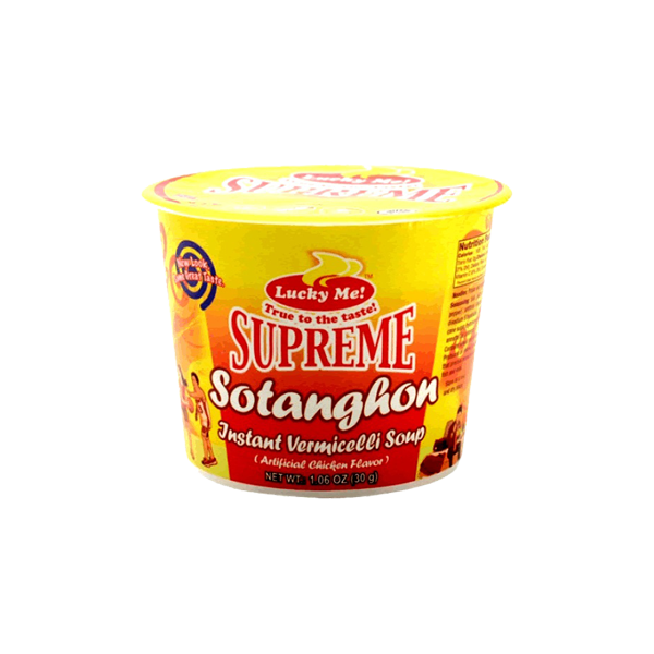 LUCKY ME MINI SOTANGHON CHICKEN SOUP SUPREME 30