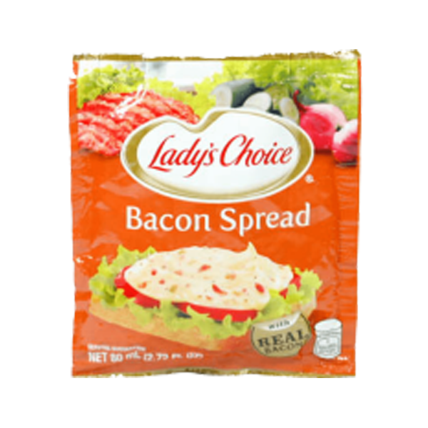 LADYS CHOICE SANDWICH SPREAD BACON 80ML