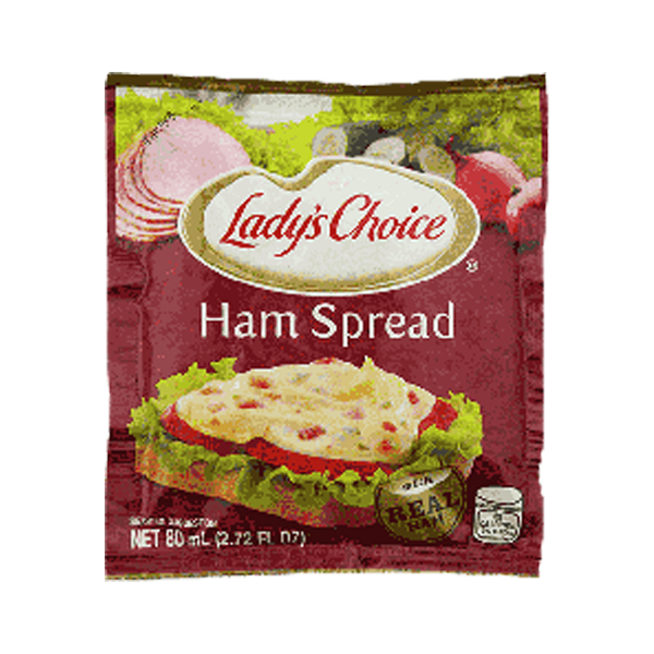 LADY'S CHOICE SANDWICH SPREAD HAM 80ML