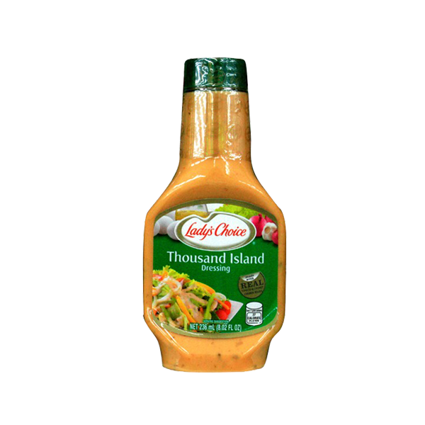 LADYS CHOICE THOUSAND ISLAND DRESSING 236ML