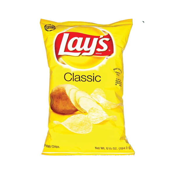 LAYS CLASSIC POTATO CHIPS 6.5OZ (184.2G)