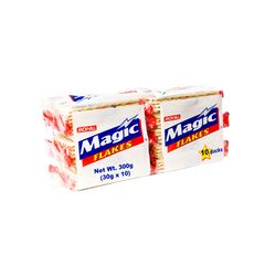 MAGIC FLAKES PREMIUM CRACKERS 30GX10S